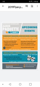 Aaron Paquette Event