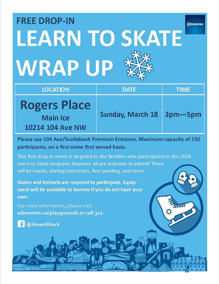 Winter Learn to Skate Wrap Up Event