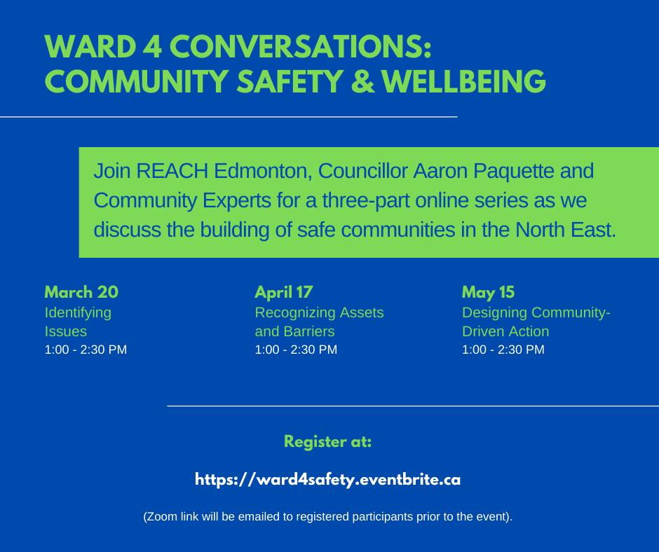 Ward 4 Conversations: Community Safety & Well-Being