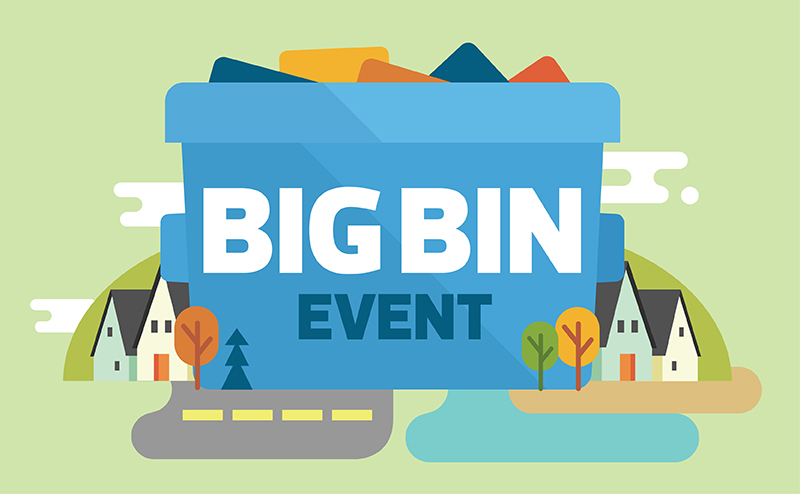 Volunteer Opportunity:  Big Bin & Cleanup Event Planning