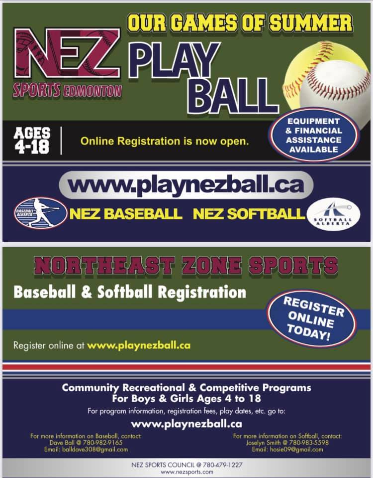 Northeast Zone Sports Registration Open