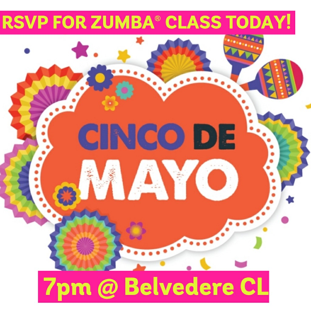 Zumba Outdoor Class, May 5 (RSVP)