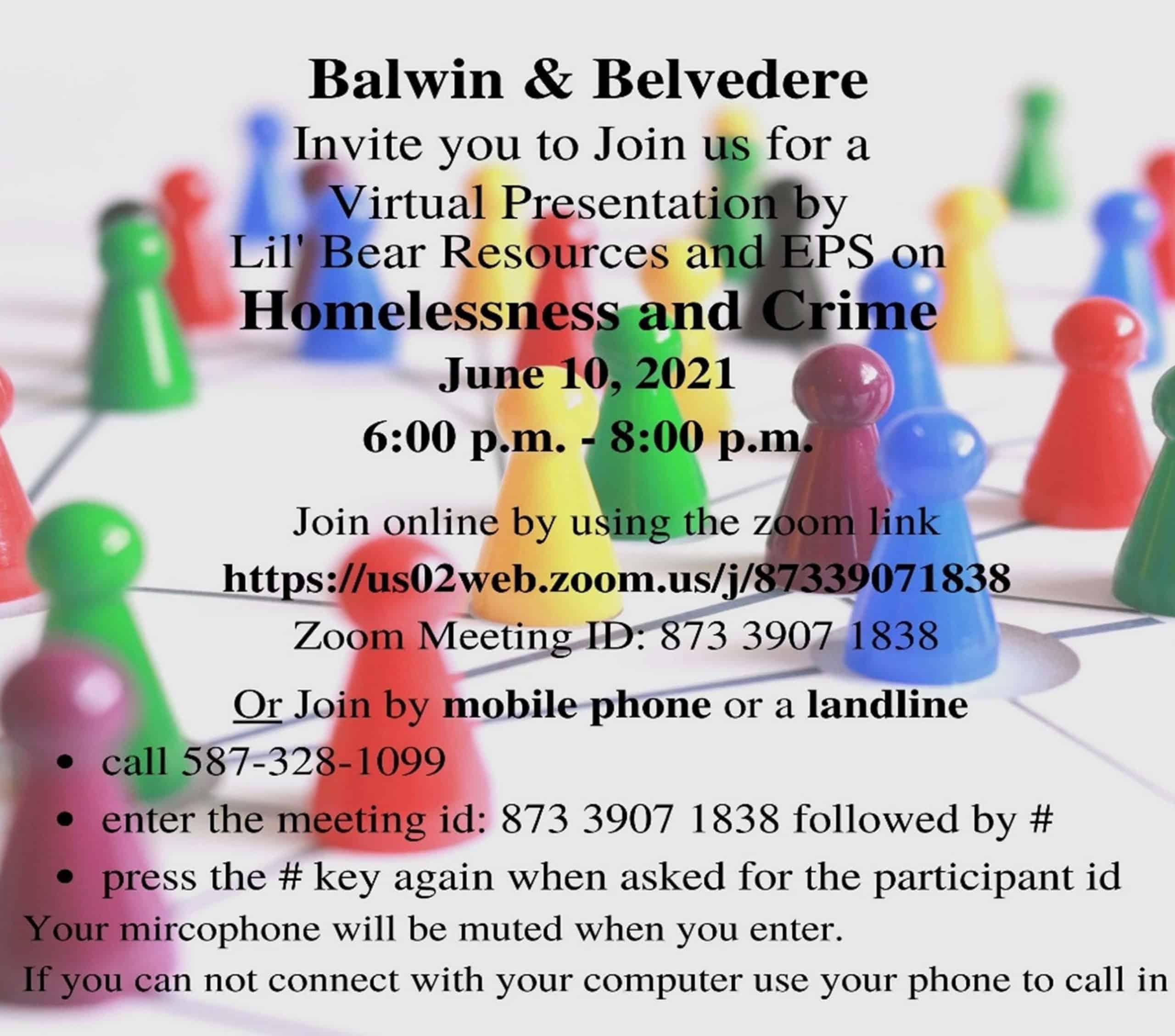 Presentation: Homelessness & Crime